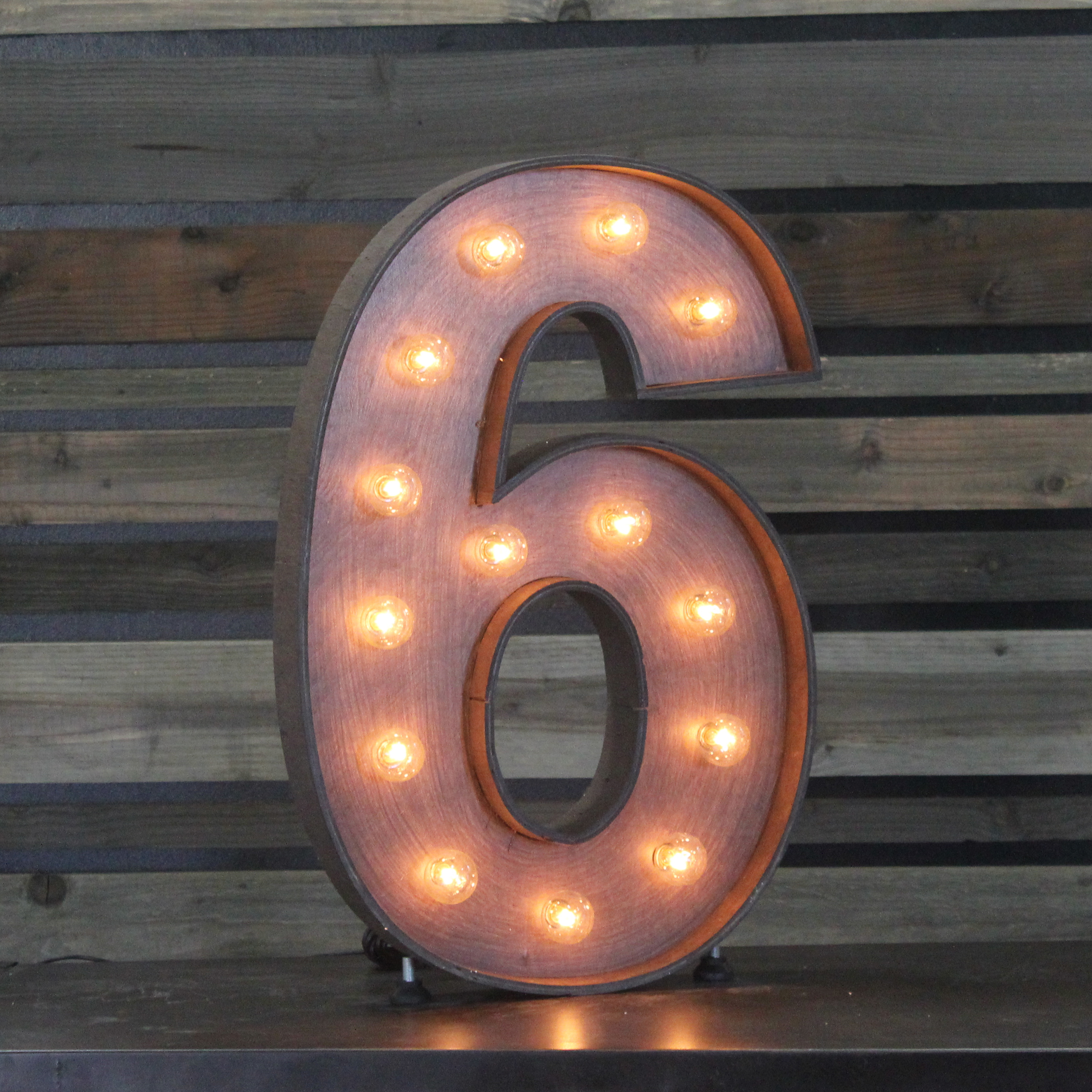marquee number - 6